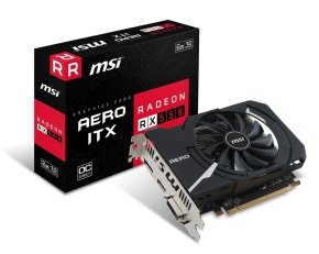 MSI RADEON RX 550 AERO OC ITX 2GB GDDR5 Graphics Card...