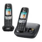 Gigaset C620A DECT Phone - Twin Pack