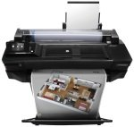 HP DesignJet T520 24-in Wireless Large Format Printer