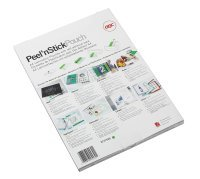 GBC Gloss Peel and Stick A4 Laminating Pouch 200 Micron (Pack of 100)