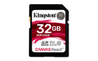 Kingston Canvas React 32GB SD Card