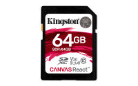 Kingston Canvas React 64GB SD Card