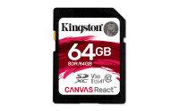 Kingston Canvas React 64GB SD Card
