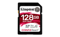 Kingston Canvas React 128GB SD Card