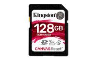 Kingston Canvas React 128GB SD Card