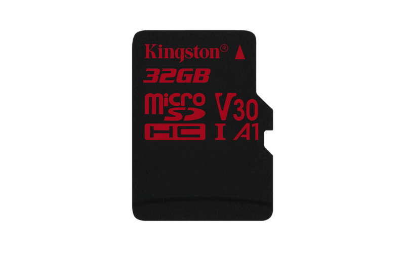 Kingston Canvas React 32GB Micro SD Card