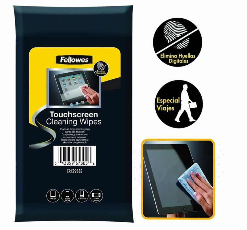 Fellowes Touchscreen Cleaning Wipes  (20 Pack)