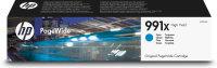 HP 991X Cyan Original PageWide Ink Cartridge - High Yield 16000 pages - M0J90AE