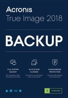 Acronis True Image Premium 3 Computers + 1 TB Acronis Cloud Storage - Electronic Software Download