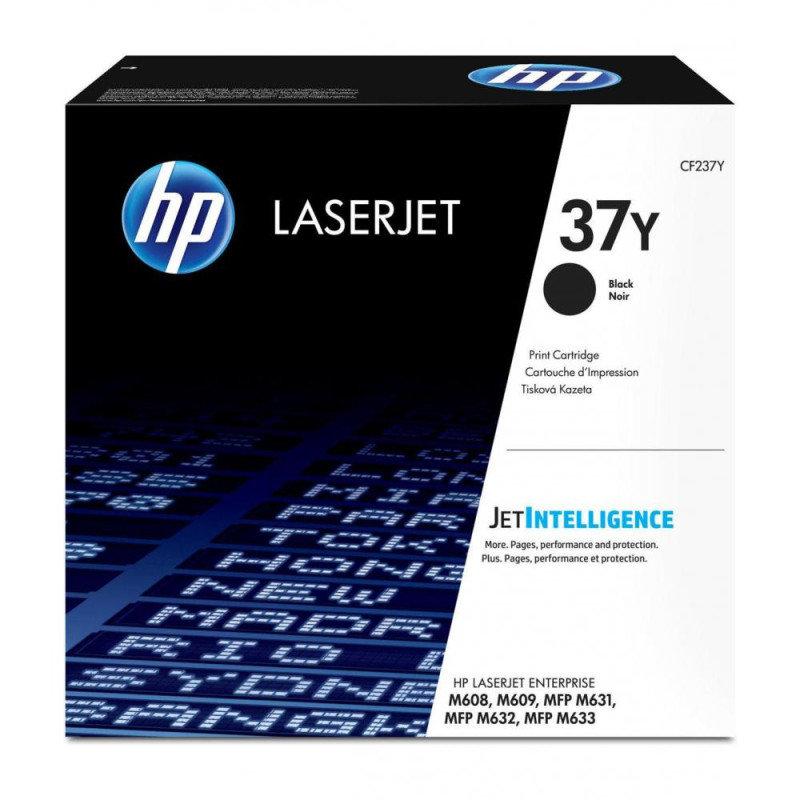 HP 37Y Extra High Yield Black Toner Cartridge - CF237Y