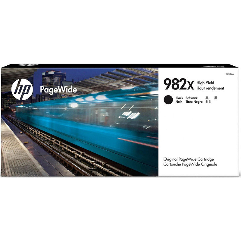 HP 982X	Black Original PageWide Ink Cartridge - High Yield 20,000 Pages - T0B30A