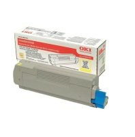 Oki C5600/C5700 Yellow Toner Cartridge