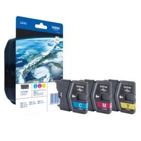Brother LC985RBWBP Ink Cartridge C/M/Y 3 Pack