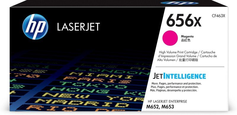 HP 656X High Yield Magenta Original Toner Cartridge - CF463X