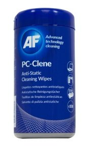 AF PC-Clene Anti Static Cleaning Wipes (100 Wipes)