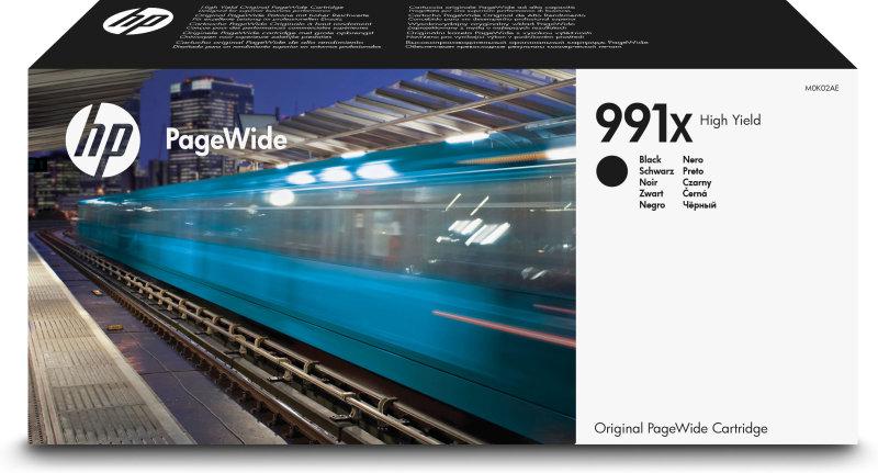 HP 991X Black Original PageWide Ink Cartridge - High Yield 20000 pages - M0K02AE