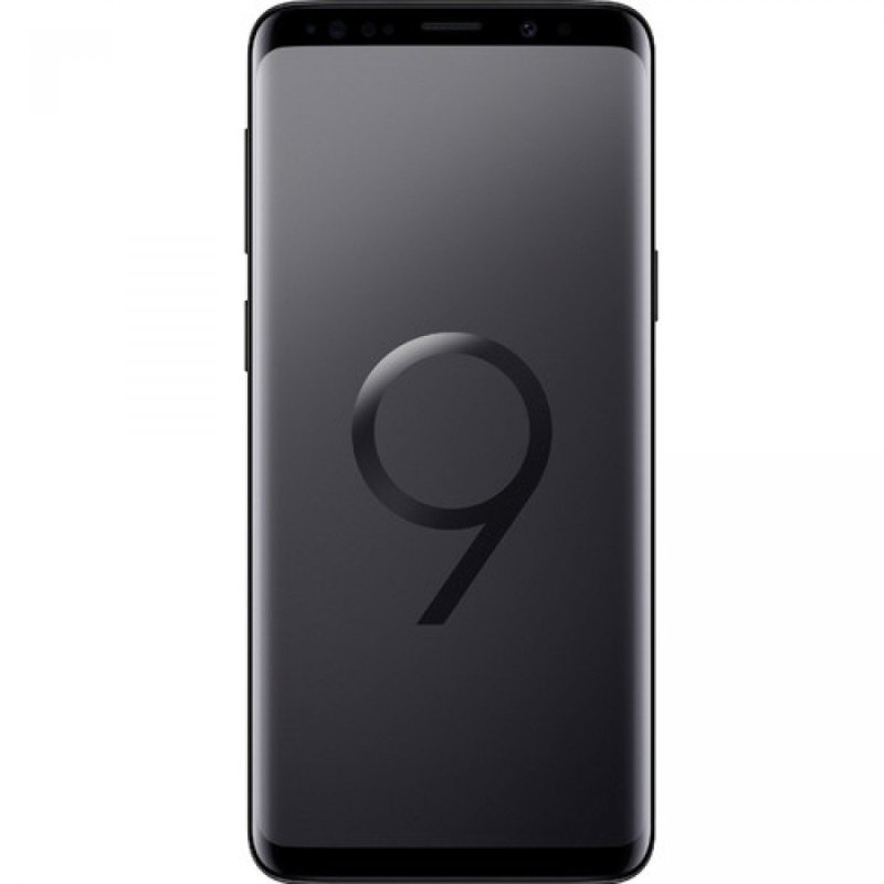 "Image of Samsung Galaxy S9 Smartphone, 4GLTE, 64GB, 5.8"" 2960x1440 Screen, Super AMOLED, 4GB RAM, 12MP Rear 8MP Front Cameras - Midnight Black"