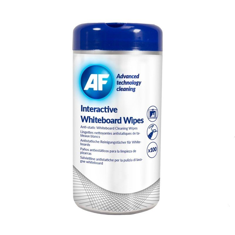 Image of AF Interactive Whiteboard Wipes (100 Pack)