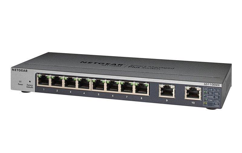 Netgear GS110EMX 8 Port Managed Switch