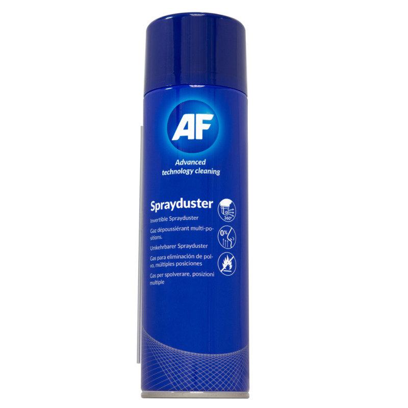 AF 200ml Non-Flammable Invertible Sprayduster (1 Pack)