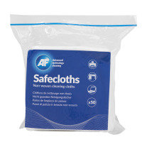 AF Safecloths Lint Free Cleaning Cloths (50 Pack)
