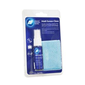 AF Multi-Screen Clene solution & cloth (1 Pack)