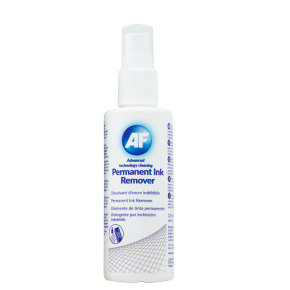 AF 125ml Permanent Ink Remover Cleaning Spray (1 Pack)