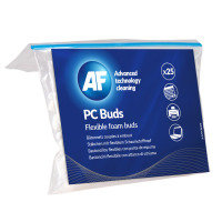 AF PC flexible plastic foam cleaning buds (25 pack)