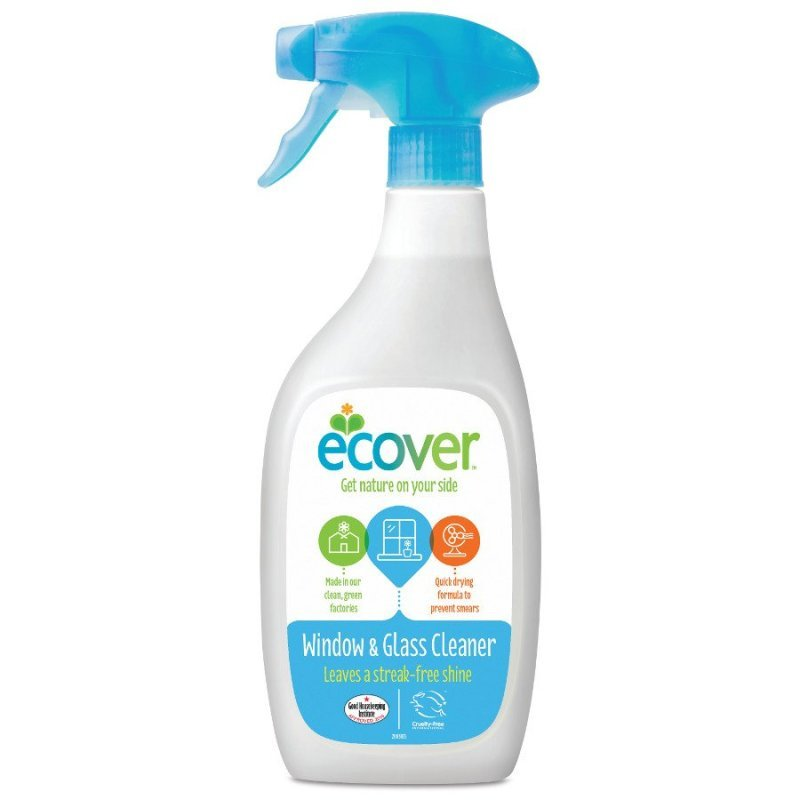Ecover Window And Glass Spray 500ml (1 Pack)