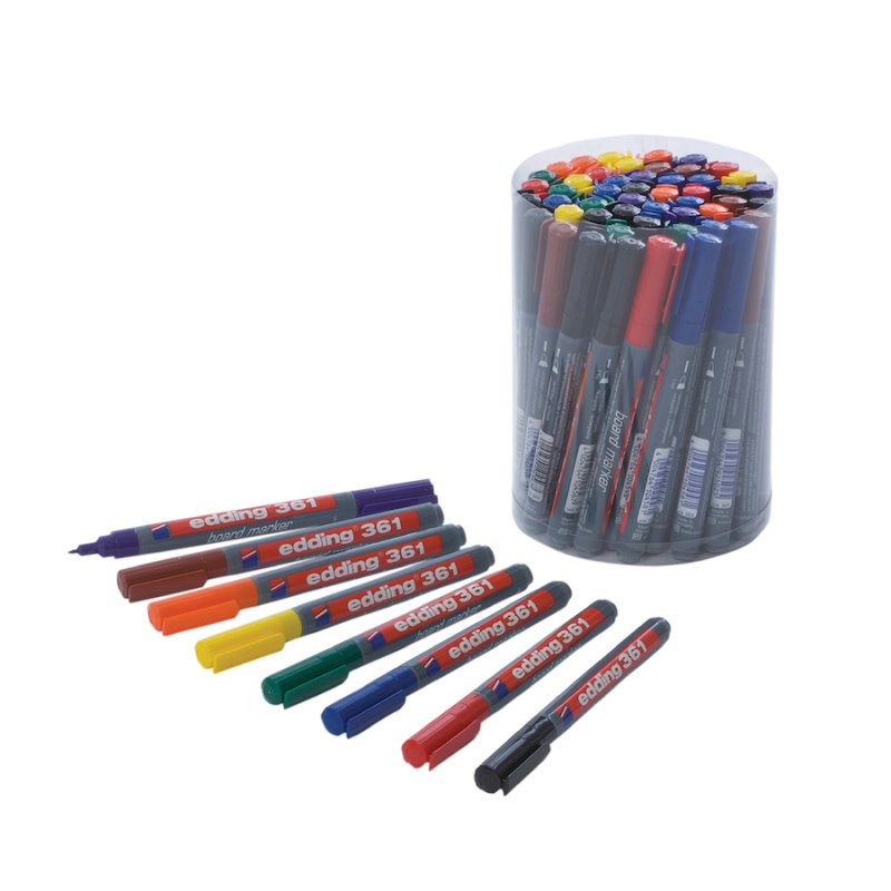 Image of Edding 361 Assorted Drywipe Marker (50 Pack)