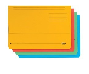 Elba Strongline FC Document Wallets Assorted (10 Pack)