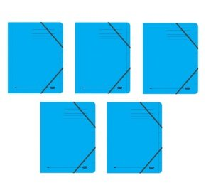 Elba Strongline 7 Part Blue File (Pack of 5)