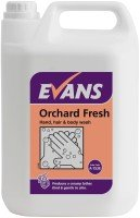 Evans 5L Orchard Fresh Hand, Body Wash & Shampoo