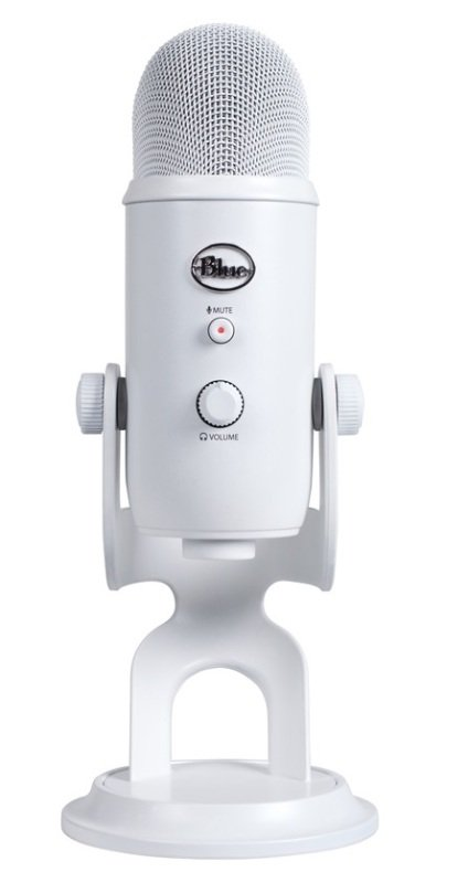 Blue 101213 Microphones Yeti Whiteout