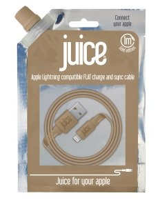 Juice Data Lightning Cable IP5 Metallic Gold 1M