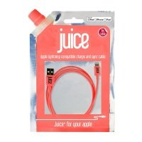 Juice Data Lightning Cable IP5 Coral 1M