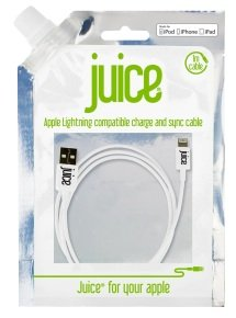 Juice Data Lightning Cable IP5 White1M