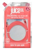 Juice XL Lightning Cable Coral 2M