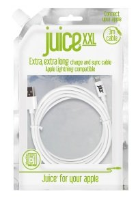 Juice XL Lightning Cable White 2M