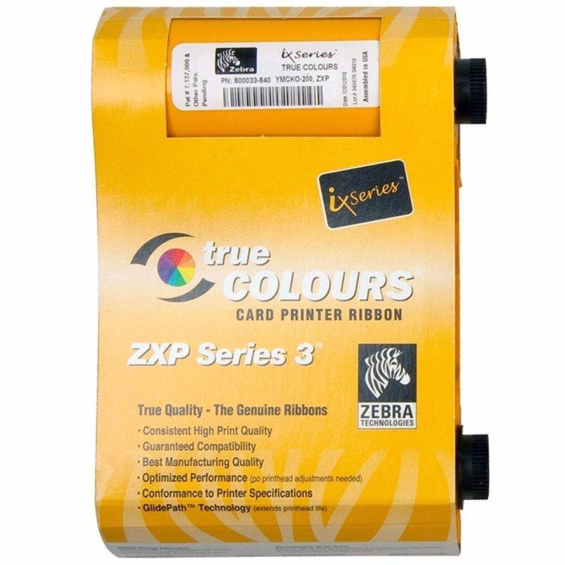ZebraZXP Series 3 IX Series YMCKO Color Ribbon