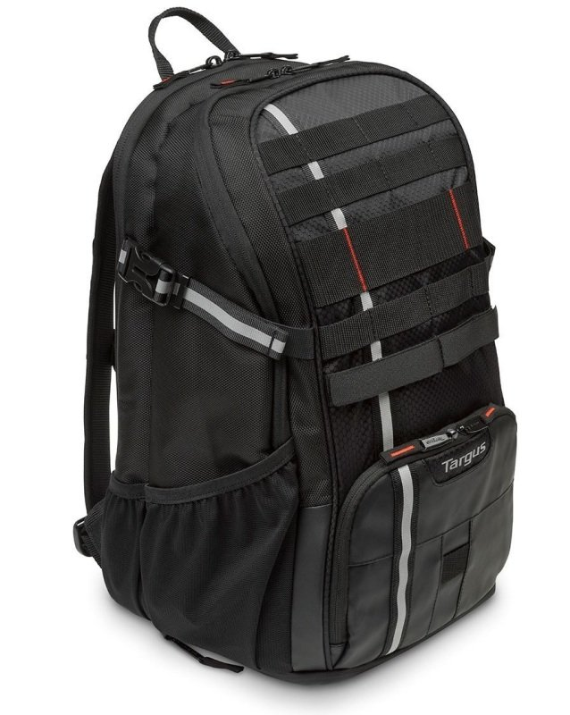 "Image of Targus Work + Play Cycling 15.6"" Laptop Backpack - Black"