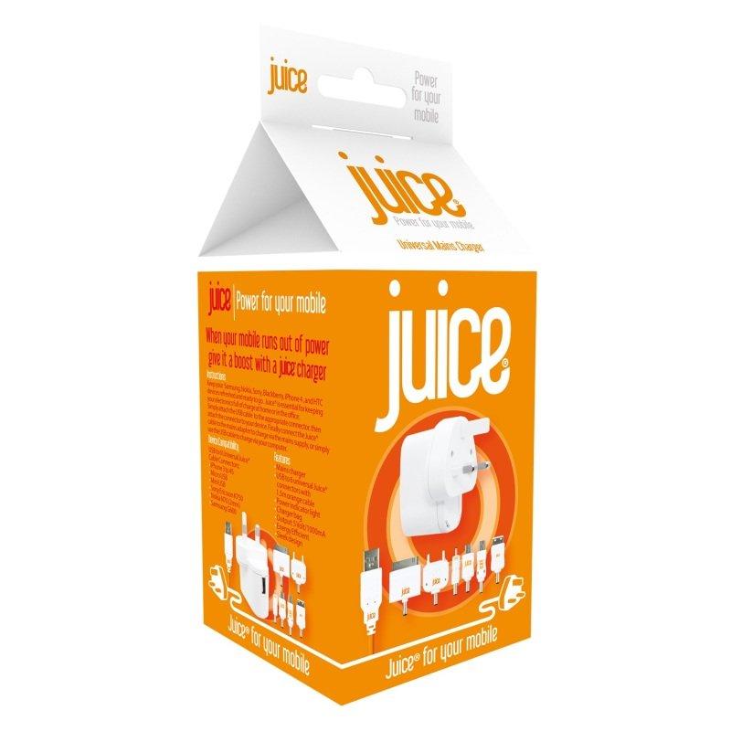 Multi Juice Mains Charger 6 Connectors
