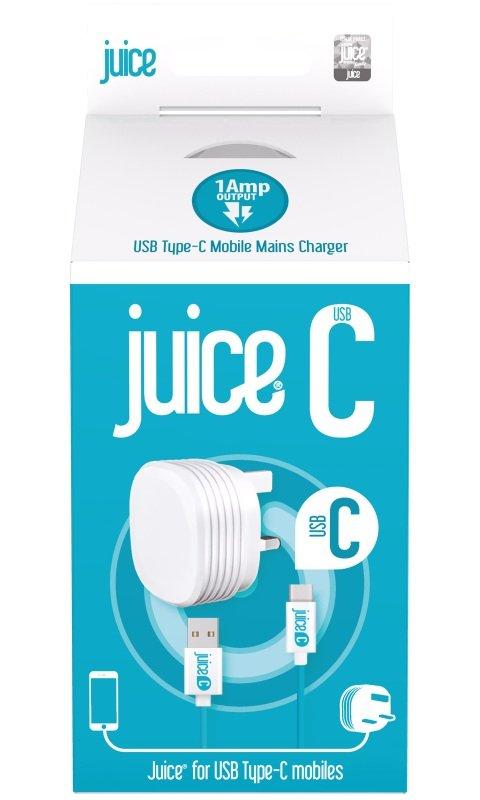 Juice C Mains Charger - Detachable Cable