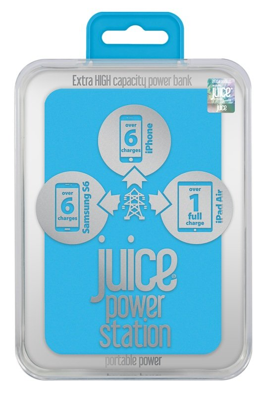 Juice Power Station - Aqua