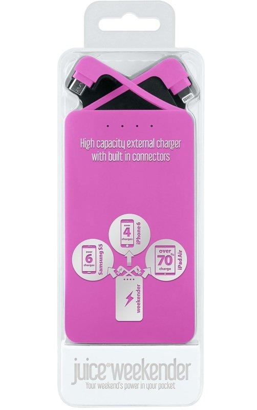 Juice Weekender Pink Power Bank