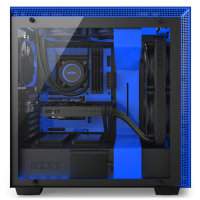 NZXT H700i Mid Tower Case - Black/Blue