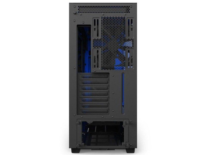 Nzxt H700i Mid Tower Case Blackblue Computer Cases At Ebuyer