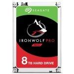 "Seagate IronWolf Pro 8TB NAS Hard Drive 3.5"" SATA III 6GB's 7200RPM 256MB Cache"