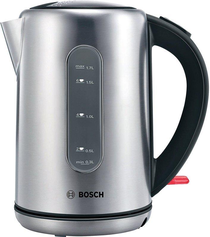 Bosch TWK7901GB City Kettle, 1.7 Litre, Stainless Steel