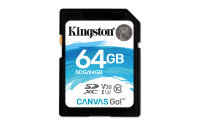 Kingston Canvas Go 64GB SD Card